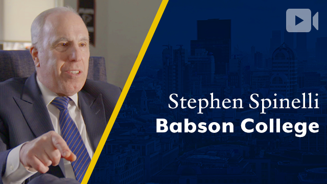 Babson College, Stephen Spinelli, CEO