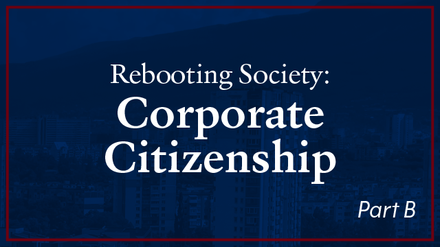 Work Group - Rebooting Society: Corporate Citizenship