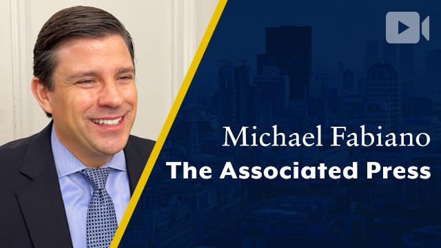 Associated Press, Michael Fabiano, CEO