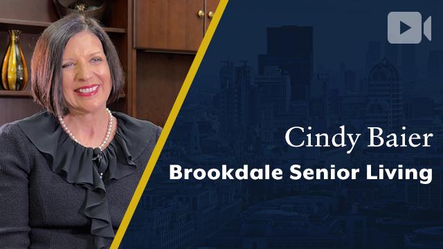 Brookdale Senior Living, Cindy Baier, President & CEO