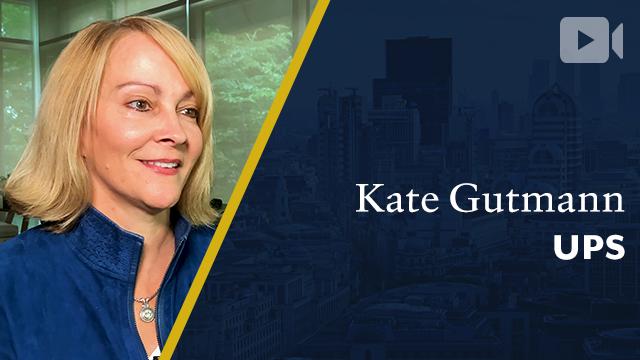 UPS Global Healthcare, Kate Gutmann, President