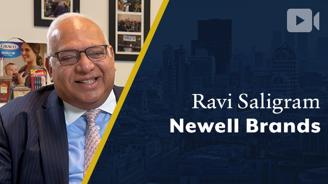 Newell Brands, Ravi Saligram, President & CEO