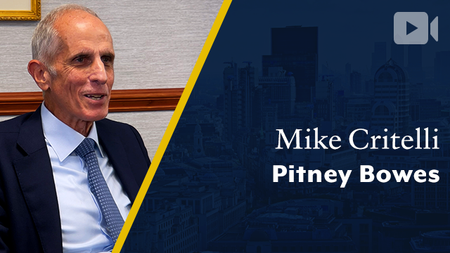 Pitney Bowes, Mike Critelli, Former Chairman & CEO