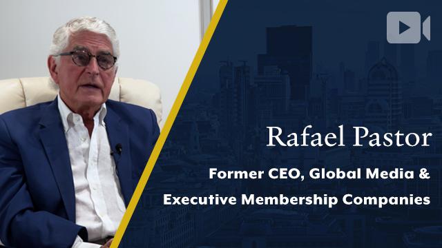 Global Media & Executive Membership Companies, Rafael Pastor, Former CEO