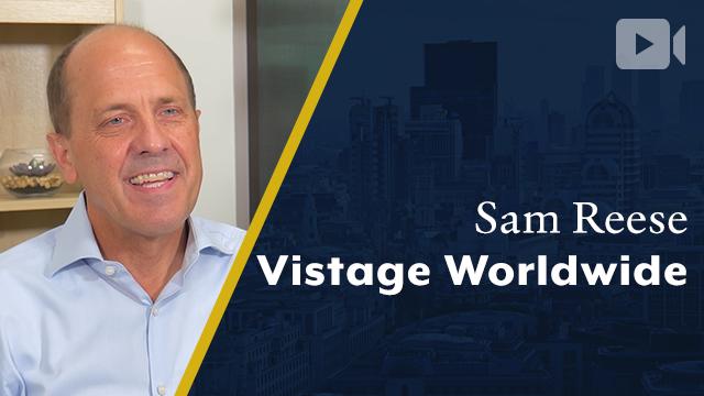 Vistage Worldwide, Sam Reese, CEO