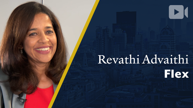 Flex, Revathi Advaithi, CEO
