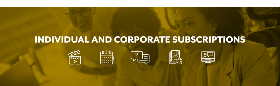 Individual and Corporate Subscriptions